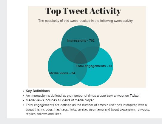 Top Tweet Activity Canva